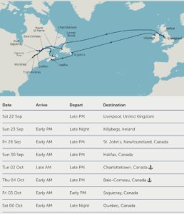 Forthcoming Cruises With Fred Olsen Corinne Marsh